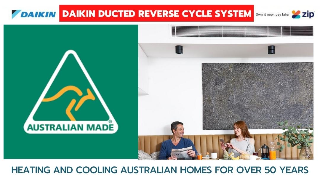 Daikin Ducted Reverse Cycle System Brisbane Deal